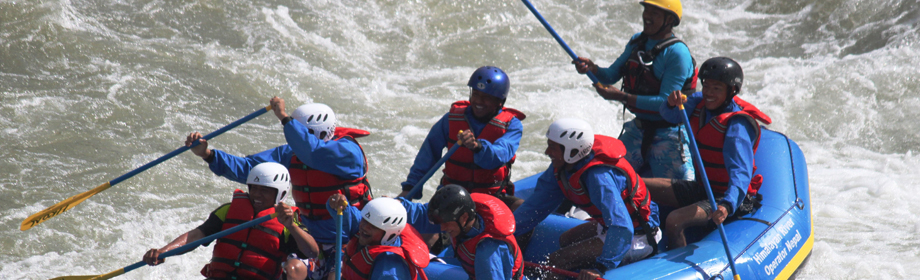 Canyoning activity in Nepal
